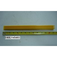 Демаркационная линия (накладка) , боковая, желтая, L=342,9 мм; KONE