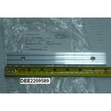Накладка гребенки эскалатора / траволатора KONE RTV-A-GD-ALSI12 алюминий