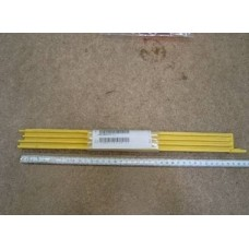 Демаркационная линия (накладка) , боковая, желтая, L=397 мм; KONE