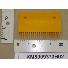 Гребенка эскалатора / траволатора Kone тип A пластиковая Правая 22 зуба