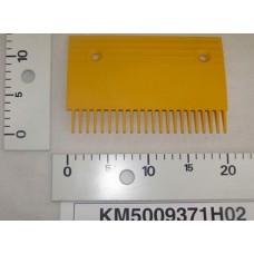 Гребенка эскалатора / траволатора Kone тип B пластиковая Левая 22 зуба