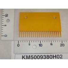 Гребенка эскалатора / траволатора Kone тип C пластиковая Средняя 22 зуба