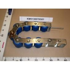 Прижимная цепь поручня эскалатора Kone Travelmaster W=52мм