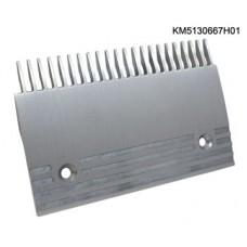 Гребенка эскалатора / траволатора Kone тип A -GD-ALSI12 Правая 22 зуба