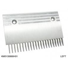 Гребенка эскалатора / траволатора Kone тип B -GD-ALSI12 Левая 22 зуба